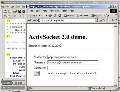 ActiveSocket Network Communication Development Kit