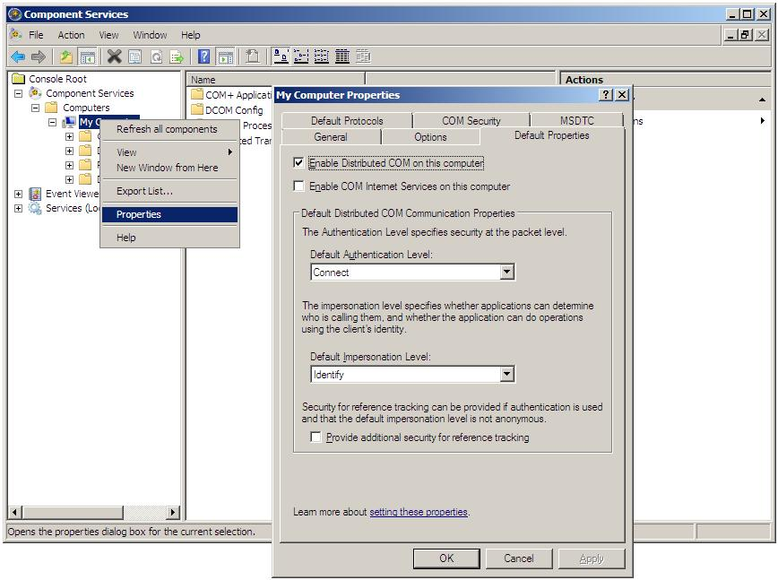 rexec service windows xp